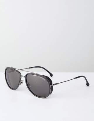 Carrera aviator sunglasses in black
