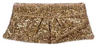 Lauren Merkin Eve Glitter Encrusted Clutch