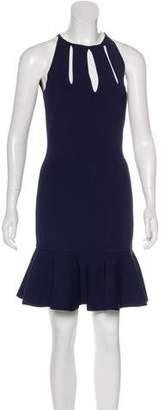 Alexander McQueen Flounced Knit Dress