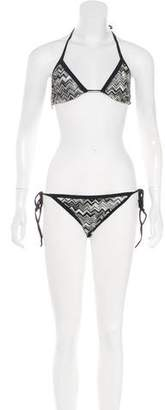 Missoni Two-Piece Knit Swimsuit w/ Tags
