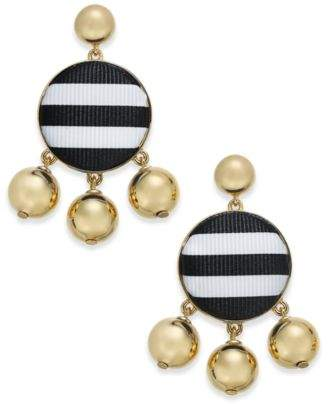 Kate Spade 14k Gold-Plated Stone & Bead Drop Earrings