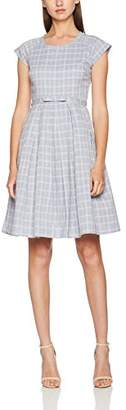 Fever London Women's Mary Check Dress,(Manufacturer Size:36)