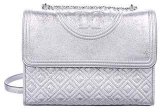Tory Burch Metallic Fleming Convertible Bag