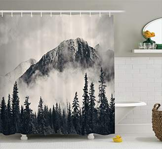 Ambesonne National Parks Home Decor Shower Curtain by