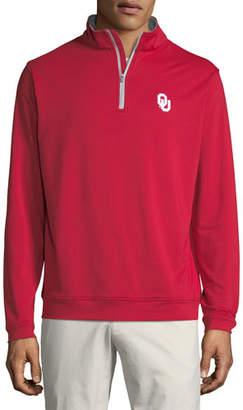 Peter Millar Men's Oklahoma University Perth Sweater, Crimson