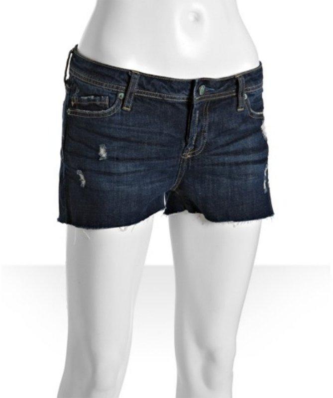 Genetic Denim ol' vintage dark wash 'The Harper' boyfirend shorts