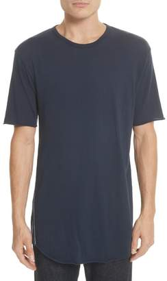 Rag & Bone Hartley Crewneck Cotton & Linen T-Shirt