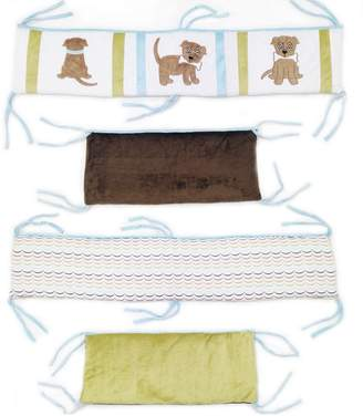 One Grace Place 10-33012 Puppy Pal Boy-Crib Bumper/Rail Cover