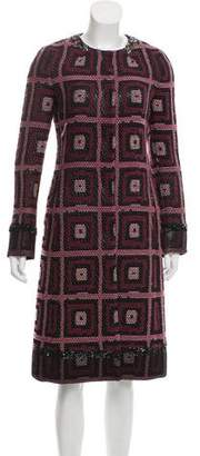 Alessandro Dell'Acqua Sequined Wool Coat