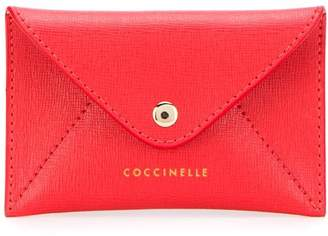 Coccinelle embossed coin purse