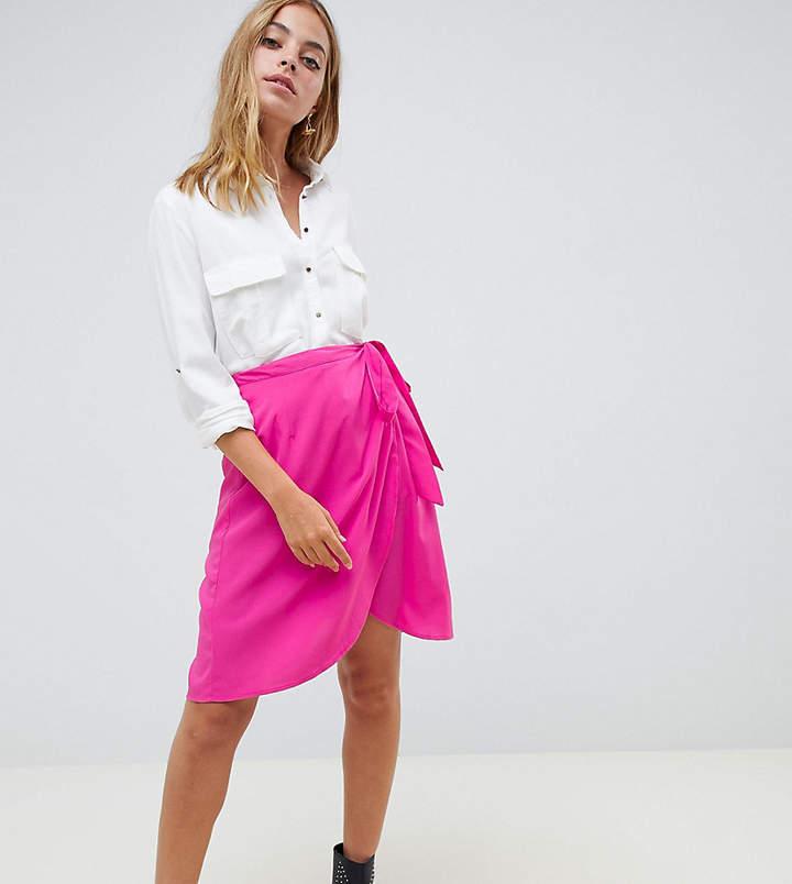 Vero Moda Petite Vero Moda petite wrap skirt