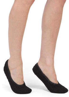 Cashmere Baby Cable Ballet Slippers