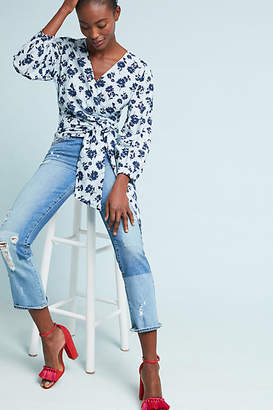 Moon River Carteret Wrap Blouse