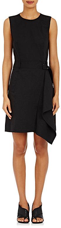 3.1 Phillip Lim3.1 Phillip Lim Women's Belted Twill Dress-Black