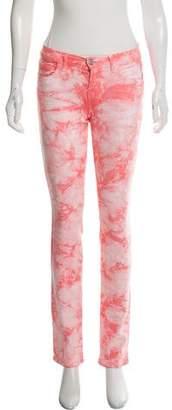 J Brand Tie-Dye Mid-Rise Jeans w/ Tags