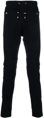 Balmain mesh-panelled sweatpants