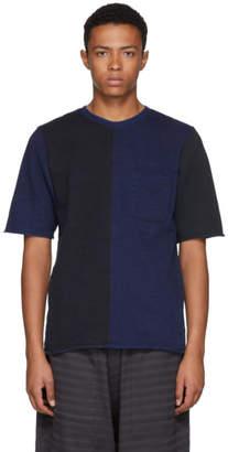 Blue Blue Japan Indigo Hand-Dyed Big Slub T-Shirt