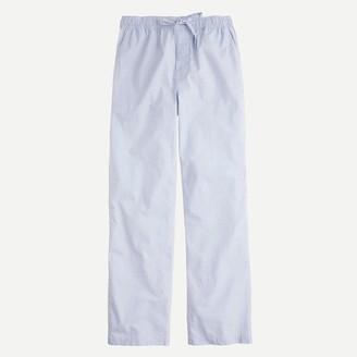 J.Crew End-on-end cotton pajama pant