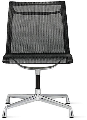 Design Within Reach Herman Miller Eames Aluminum Group Side Chair, Black at DWR