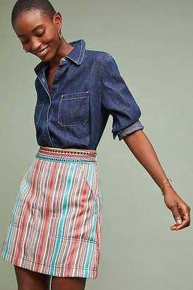 Maeve Sophy Striped Skirt
