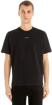 Oamc Charlie Patch Cotton Jersey T-Shirt