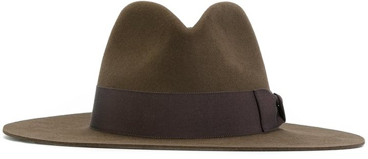 Saint LaurentSaint Laurent classic fedora hat