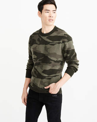 Abercrombie & Fitch Camo Pattern Sweater