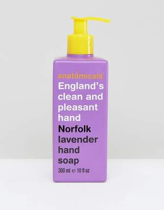 Anatomicals England's Clean And Pleasant Hand Norfolk Lavender Soap 300ml