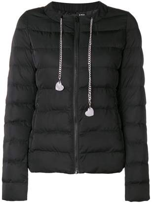 Love Moschino zipped padded jacket