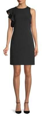 Julia Jordan Ruffled Mini Dress