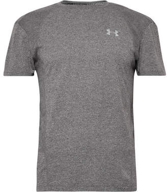Under Armour Swyft Slim-Fit Mélange Threadborne Heatgear T-Shirt