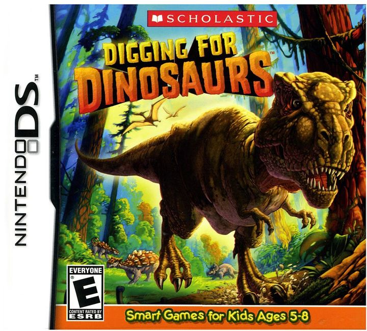 Nintendo Digging for Dinosaurs for DS