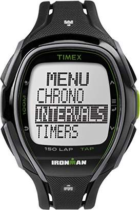 Timex Ironman Sleek 150 Men's Digital Alarm Chronograph Watch - Black - TW5K96400
