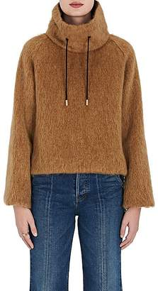 The RERACS Women's High-Neck Wool-Mohair Sweater