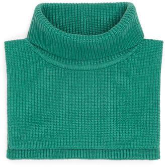 Arket Cotton Cashmere Bib Neck