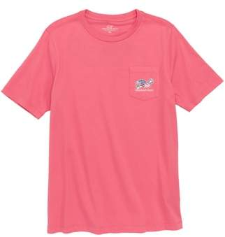 Vineyard Vines Lax Bro Whale Pocket T-Shirt
