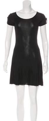 Azzaro Mini Knit Dress