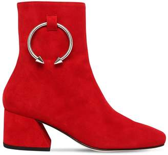 50mm Pierce Suede Ankle Boots