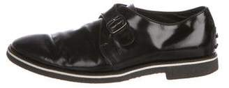 Tod's Leather Monk Strap Shoes