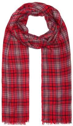 Isabel Marant Woody plaid wool scarf