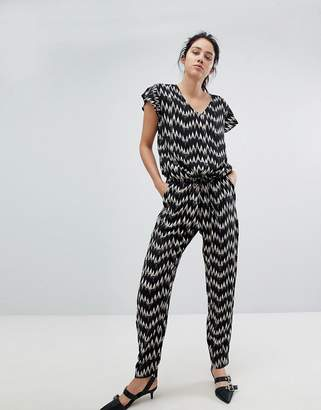 B.young Zig Zag Jumpsuit
