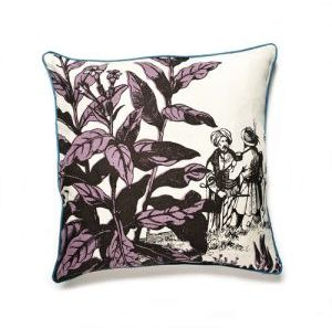 Thomas Paul Herbarium Linen Pillow