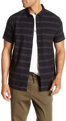Tavik Shin Stripe Print Signature Fit Shirt