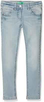 Benetton Girl's Trouser, (Blue 902), One (Size: XX)