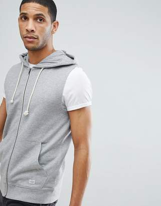 Jack and Jones Originals Sleeveless Hoodie
