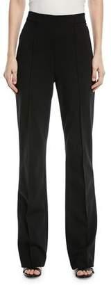 Escada Talisana High-Waist Boot-cut Jersey Pants