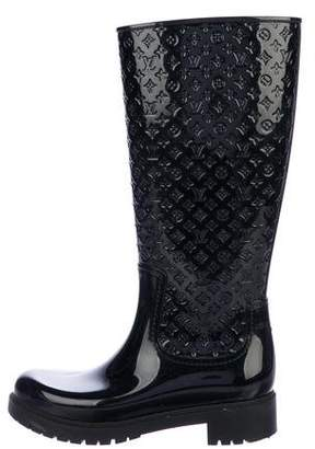 Louis Vuitton Splash Monogram Rain Boots