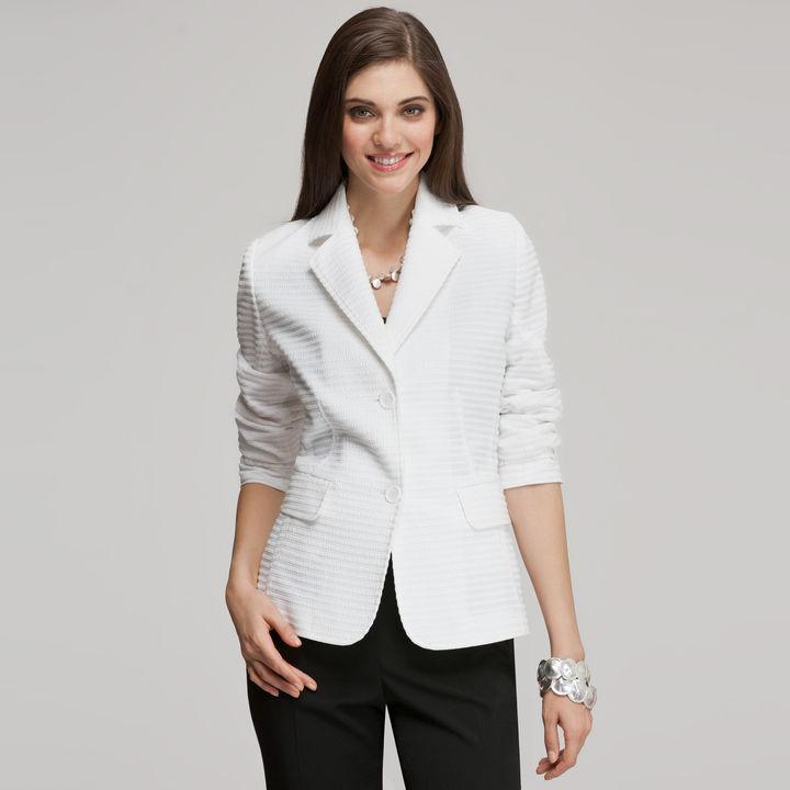 Jones New York Long Sleeve Blazer
