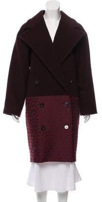 Stella McCartney Oversize Double-Breasted Wool Coat