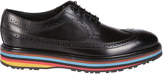 Paul Smith Color Blocked Derby Shoes